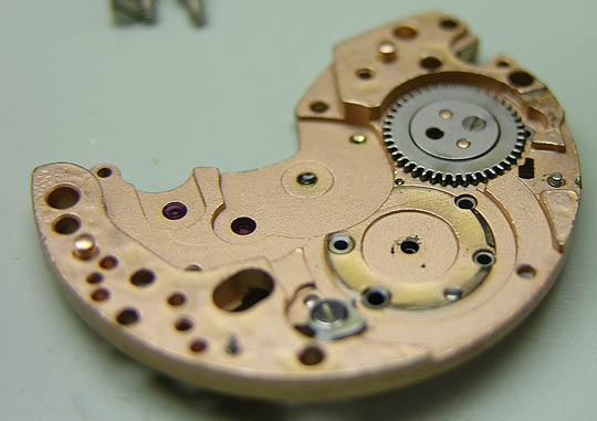 Omega 861 Movement w/ Excess Oil