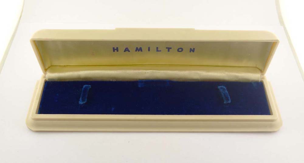 Hamilton Ladies 1940's Celluloid Box