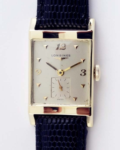 LONGINES 14K Solid Gold Scalloped Case