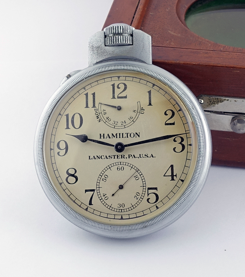 Hamilton Model 22 Bureau of Ships US Navy Chronometer