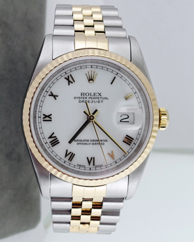 Rolex Men's Datejust SS/18K ref. 16233