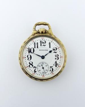 hamilton 950 rigid bow pocket watch